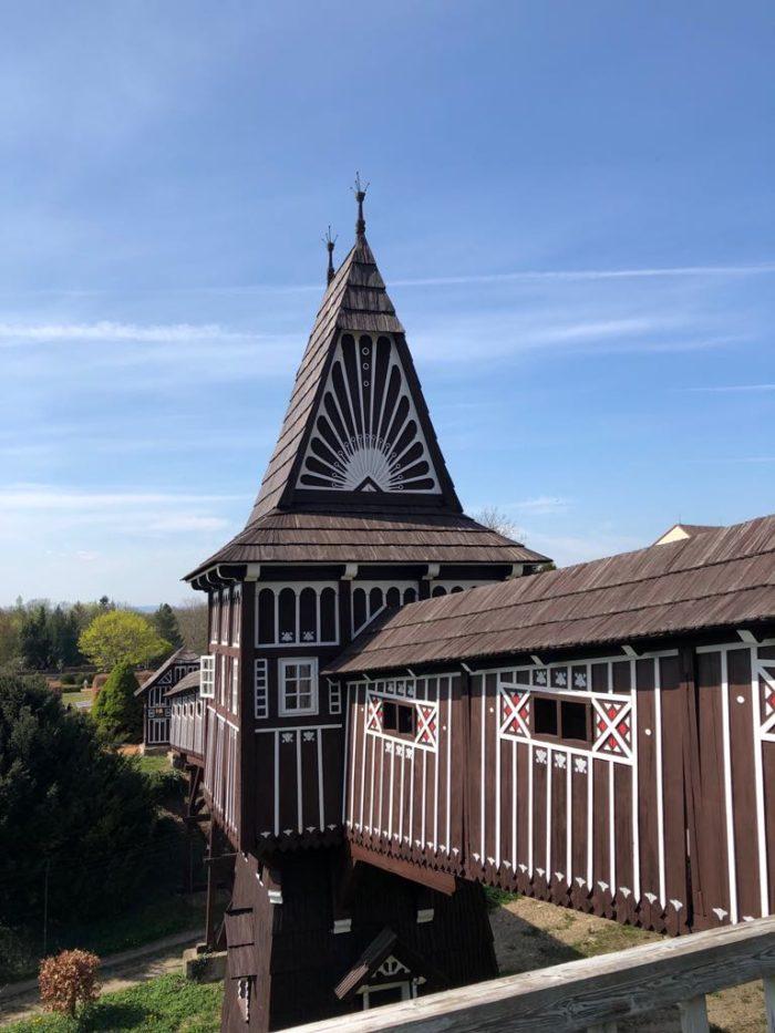 Dřevěný most Nové Město nad Metují