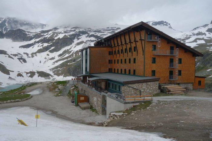 Rudolfhütte na Weissee