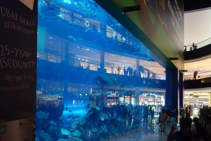 Akvarium v Dubai Mall