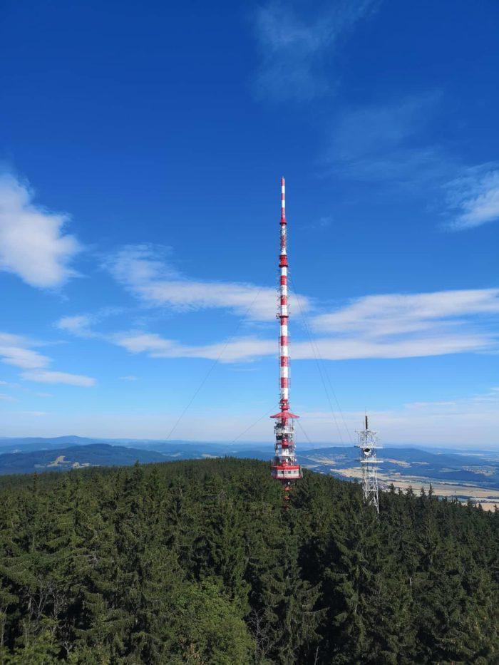 Vysílač na Kleti