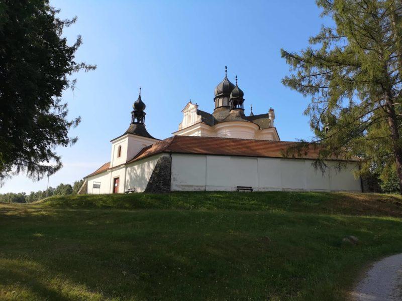 Poutní kostel nejsvatější trojice - Trhové Sviny