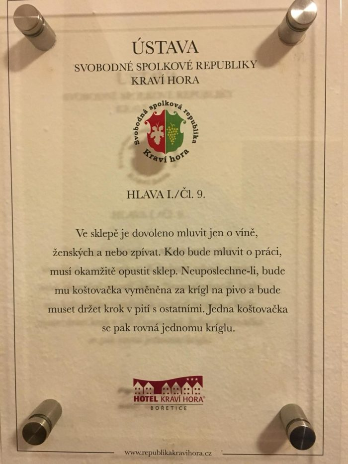 Ústava - Kraví Hora