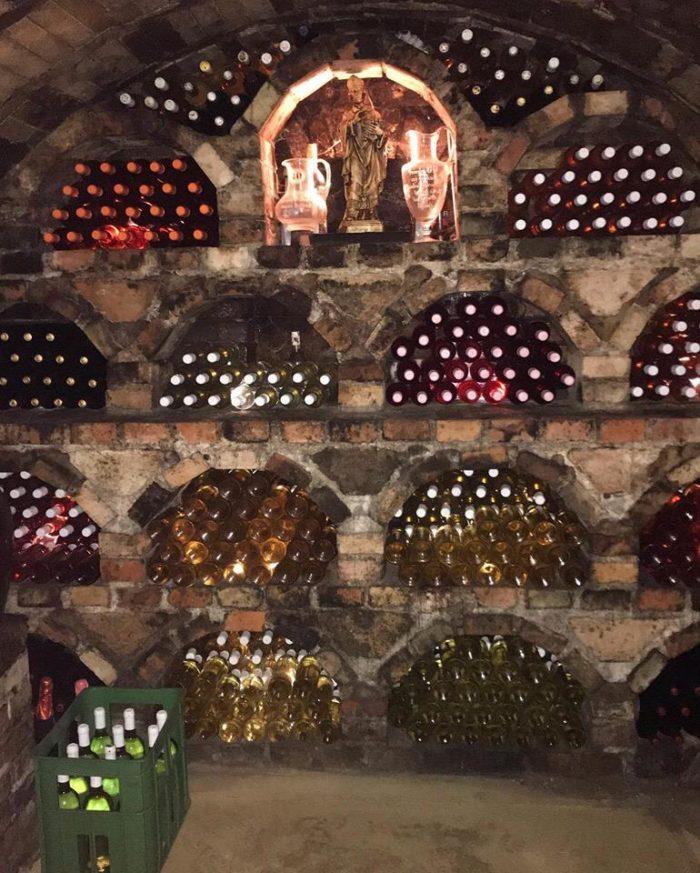 Vinný sklípek - Bořetice