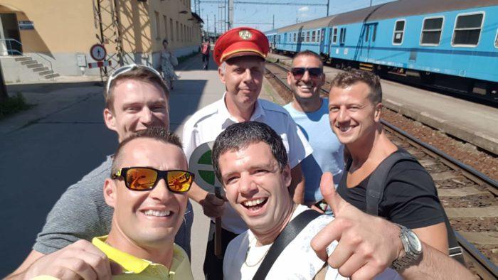 Cesta vlakem na Vranovskou přehradu
